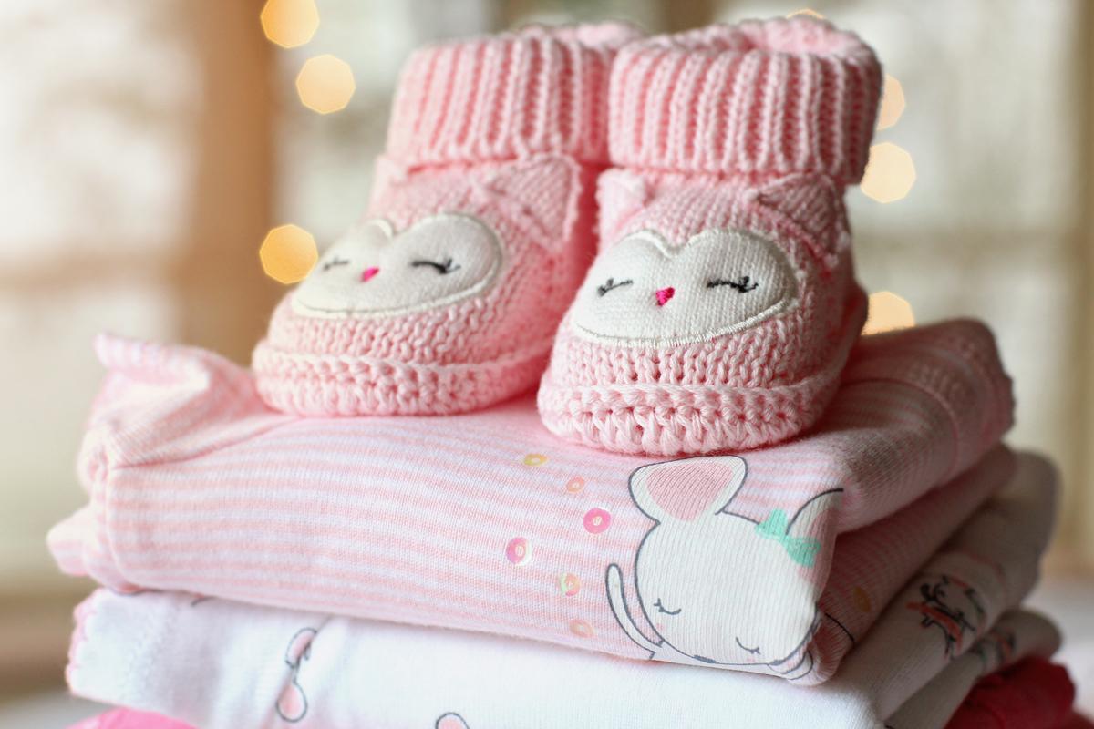 bombažna oblačila za dojenčke