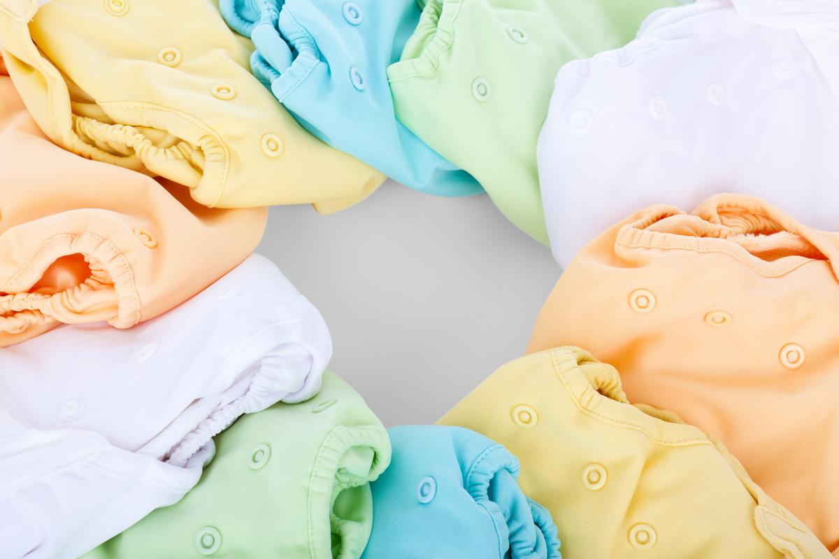 bombažne pralne pleničke