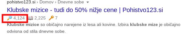 seo optimizacija obisk spletne strani pohistvo123.si