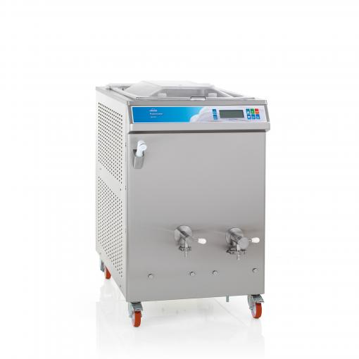 Pasterizator s 120l vam omogoča pasterizacijo sladoleda za približno 160l sladoleda