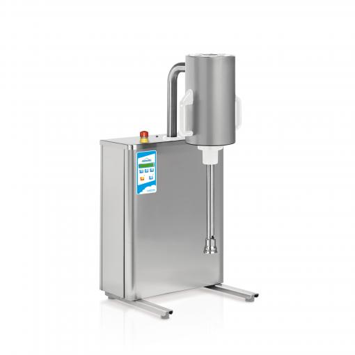 Turbomikse - pokončni mikser za sladoledno bazo in izdelavo sadnih pirejev.